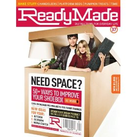 Ready Made Magazine cover